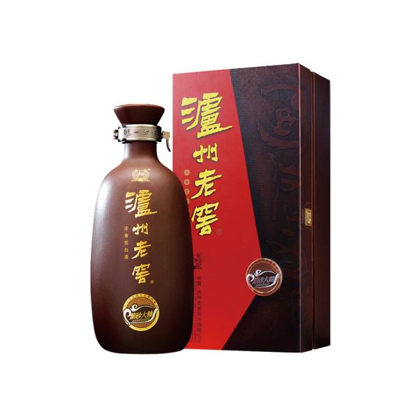 重庆批发零售泸州老窖 紫砂大曲 浓香型白酒52度