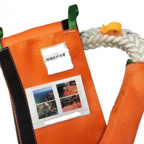 缆绳耐磨护套(高分子缆绳保护绳索使用寿命)