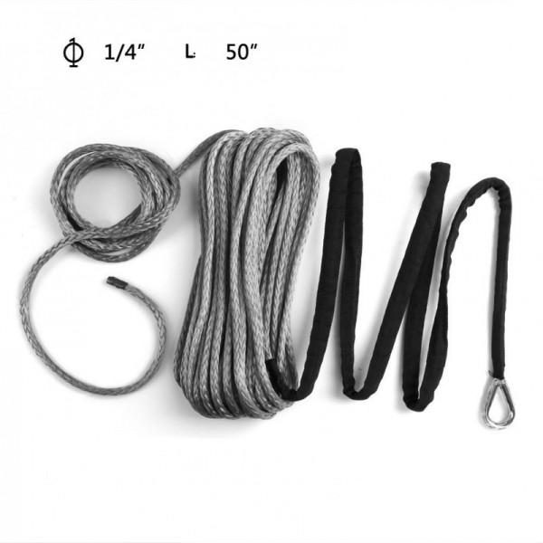 汽车牵引绞盘绳(拖车绳高分子聚乙烯材质)