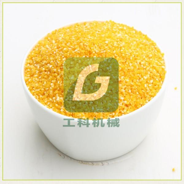 菏泽工科玉米制糁机 玉米脱皮制糁制粉一体机 一机多用