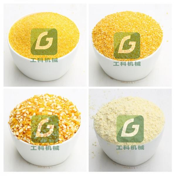 菏泽厂家直销玉米深加工机器  玉米深加工流水线 玉米脱皮机组