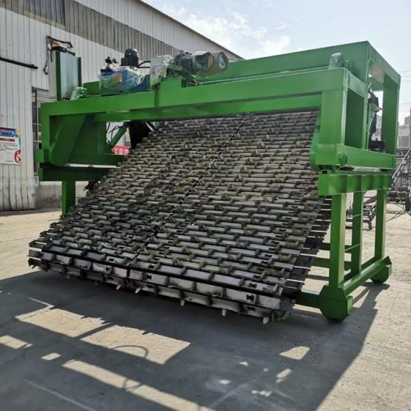 【链板式翻堆机】羊粪深槽好氧堆肥 鑫盛制造 秸秆发酵设备