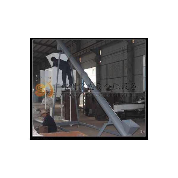 鑫盛制造 小型螺旋输送机 有机肥颗粒输送设备