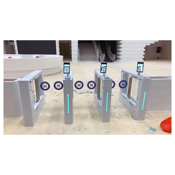 人脸识别测温闸机实名制闸机