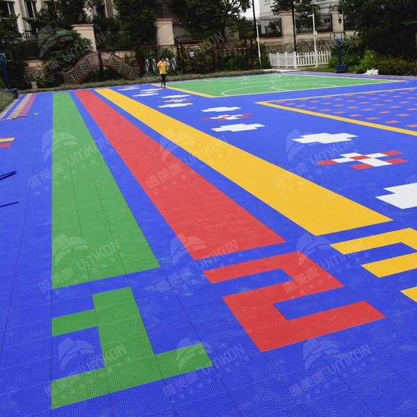 广州拼装幼儿园地板一平方多少钱质量过保