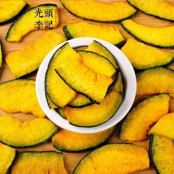 南瓜脆果蔬脆厂家原料散货供应生产加工代理加盟批发订制