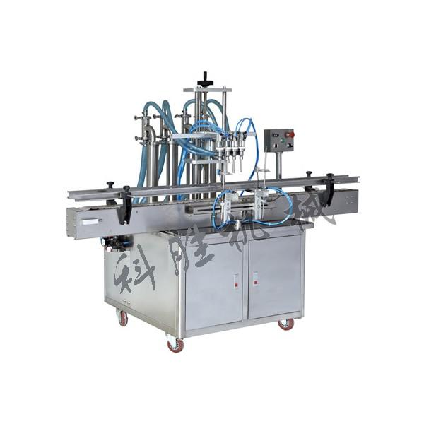 衡水科胜四头液体灌装机|葱油自动灌装机|河北灌装机