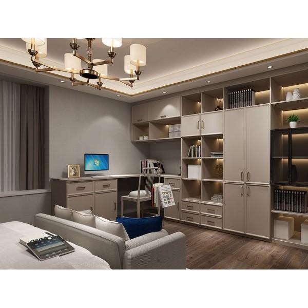 新会市全屋家具定制 新会板式整体衣柜定制厂家 迈世森家具定制