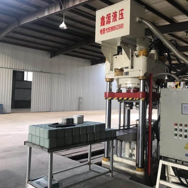 产量高  密度大Y鑫源自动食盐压块机厂家