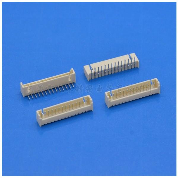 MX1.25间距针座条形立贴接插件