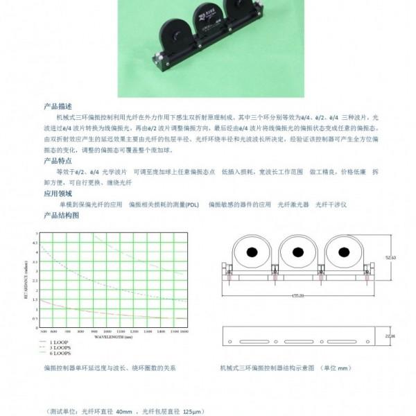 三环偏振控制器