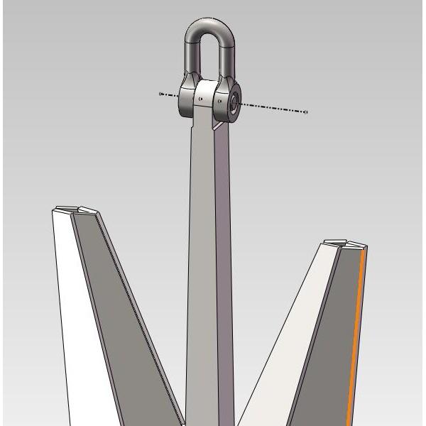 N型波尔锚-成金船锚