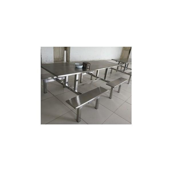 东莞大学生食堂餐桌 不锈钢加工定制 产品质量可靠有保障
