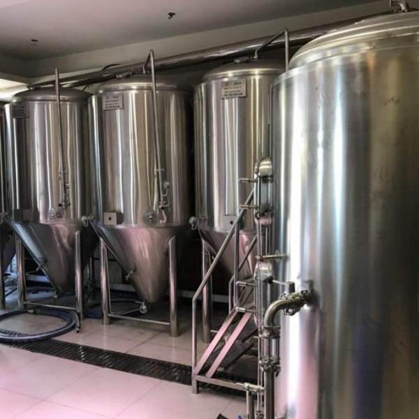 湖南精酿啤酒厂啤酒设备 啤酒设备厂家 大型啤酒设备