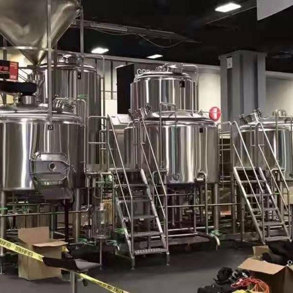 10吨啤酒设备糖化系统 精酿啤酒设备 啤酒设备厂家