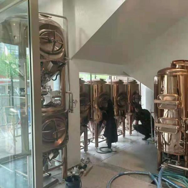 湖南精酿啤酒设备 啤酒设备工厂 300升小型啤酒设备