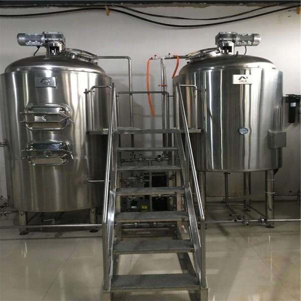 精酿啤酒设备两锅三器  啤酒设备配置 啤酒设备工厂