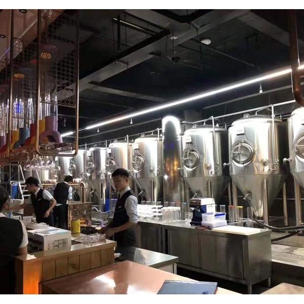 精酿啤酒设备选择 小型精酿啤酒设备 啤酒设备生产供应商