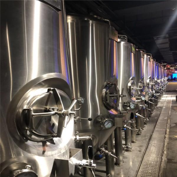 自酿啤酒设备 2000升精酿啤酒设备 啤酒设备厂商