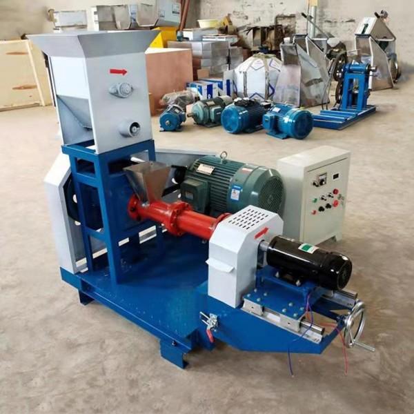 饲料膨化机 全电工作 产量高 易操作 各种型号干法膨化机